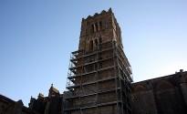 Comença la rehabilitació de la basílica de Castelló d'Empúries
