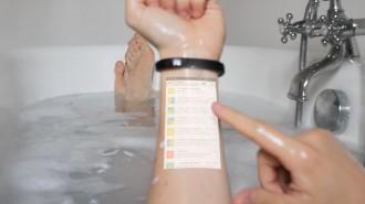 «Cicret Bracelet», la pulsera que transforma la nostra pell en una tablet