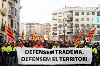 Els extreballadors de Tradema se senten «abandonats» pel Govern