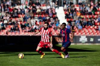 El Girona perd 0 a 1 contra el Barça B