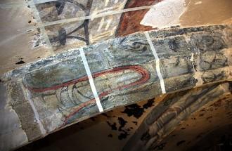 L'església de Sant Pere de Ripoll «amagava» 40 dracs policromats del segle XVI