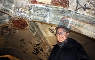 L'església de Sant Pere «amagava» 40 dracs policromats del segle XVI
