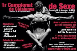 Vés a: Amposta organitza el «Primer Campionat de Catalunya de Sexe»