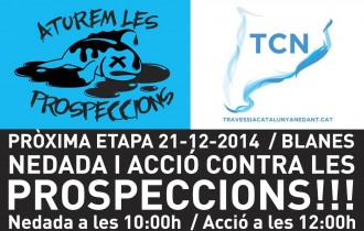 Vés a: Acció contra les prospeccions de petroli a la costa catalana