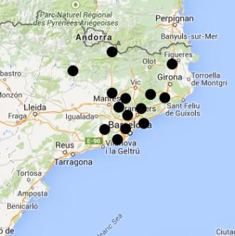 Mapa interactiu de les carreteres més perilloses de Catalunya