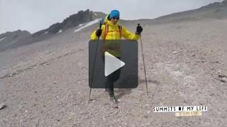 Vés a: Kilian Jornet avorta pel vent el primer intent de rècord a l'Aconcagua
