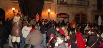 El Tió de Montblanc recull aliments per Càrites aquest dissabte