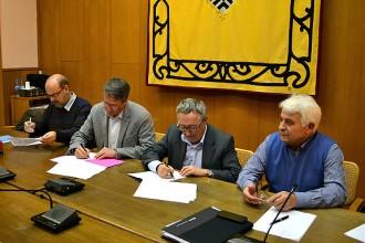Conveni de col·laboració entre Ajuntament i empresaris de Súria