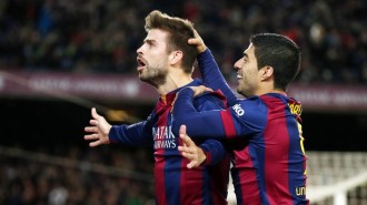 El Tió és generós amb el Barça
