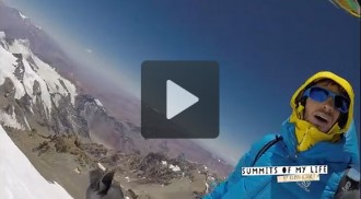 Kilian Jornet avorta pel vent el primer intent de rècord a l'Aconcagua