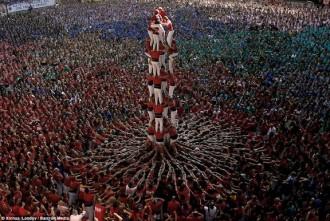 Castells en el resum de l'any del diari anglès més llegit a la xarxa