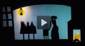 Vídeo: Una felicitació de Nadal amb dibuixos i titelles de paper