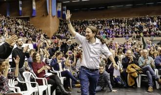 Pablo Iglesias, a Barcelona: sí al dret a decidir, no a la independència