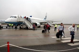L'Aeroport d'Alguaire espera 20.000 esquiadors