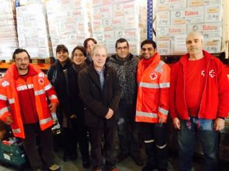 L'empresa de Palau Lab Circuits dóna 15 mil euros a Creu Roja Baix Montseny
