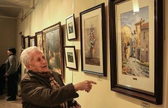 Sant Quirze de Besora mostra les pintures dels seus artistes