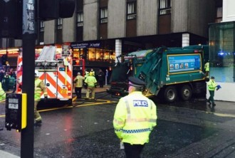 Un camió d'escombraries mata sis persones a Glasgow