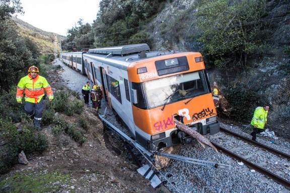 Accident de tren a La Garriga