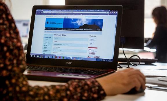 Dotze webs d'ajuntaments osonencs,  distingits per la seva transparència