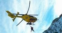 Rescat en helicòpter d'un excursionista ferit al Gra de Fajol