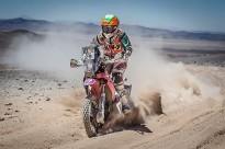 Laia Sanz puja fins a la 14a posició del Dakar