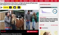 El festeig entre Santi Serra i Nicole Berlusconi sacseja la premsa del cor italiana