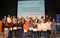 La Generalitat premia un projecte fet per joves de tres instituts d'Olot