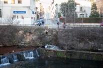 Mor un noi de 24 anys en caure el cotxe al riu Fluvià a Olot