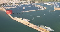 Ports remodela el moll de la benzinera del port de la Ràpita