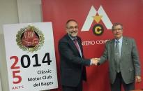 Montepio i Clàssic Motor Club del Bages signen un conveni