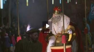 La cavalcada de reis de Girona per TV3