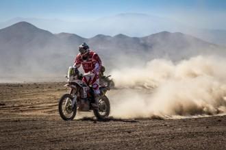 Gerard Farrés abandona el Dakar per culpa d'una hipotèrmia