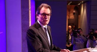Vés a: VÍDEO EN DIRECTE: Artur Mas compareix al Palau de la Generalitat