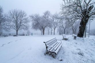 Les cotes més altes d'Osona acumulen entre 5 i 10 centímetres de neu