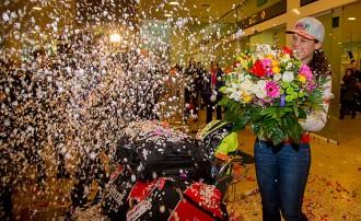 La reina del Dakar ja és a casa