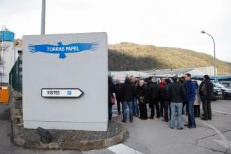 Els treballadors de Torraspapel, en contra d'externalitzar de la producció