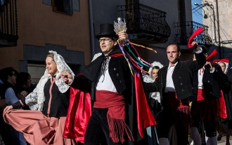 La Trencadansa anima la festa major de Prats de Lluçanès