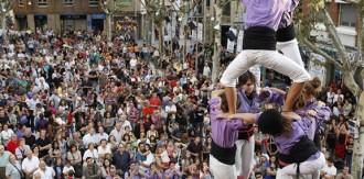 Els Castellers de Cornellà transformen el seu local en un túnel del terror