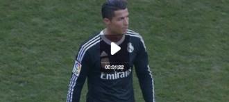 Vídeo: La puntada de peu de Cristiano Ronaldo a un jugador del Còrdova