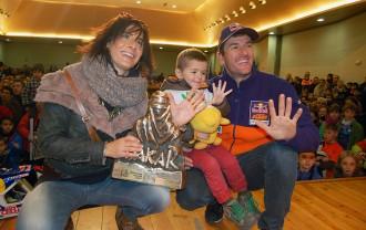 Vés a: Avià es bolca per rebre el quíntuple campió del Dakar Marc Coma