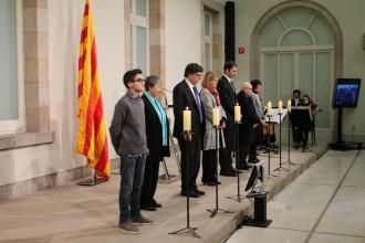 Vés a: El Parlament commemora el Dia de les Víctimes de l'Holocaust