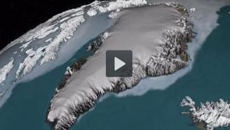 Vídeo: La NASA crea un mapa 3D de les capes de gel de Groenlàndia