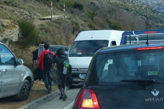 Neu al Montseny: Benvinguts pixapins