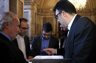 CiU i ERC acorden el pressupost