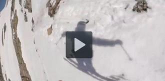 Sigues la mirada d'un esquiador professional