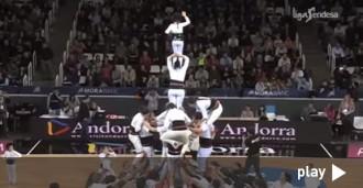 Els Castellers d'Andorra, al resum de la setmana de l'ACB