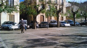 La remodelació de la plaça Mossèn Sol recuperarà un tram de muralla