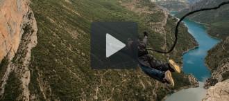 Espectacular rècord mundial de salt al buit des de Mont-Rebei