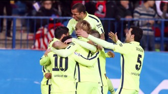 El Barça passa a les semifinals de la Copa amb una primera part boja (2-3)