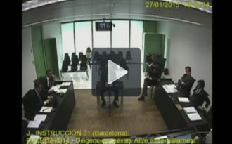 Vés a: Vídeo: Es filtren les imatges de la declaració de Jordi Pujol